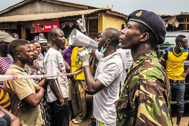 Disease outbreak: Finish the fight against Ebola