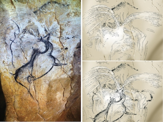6056c5531  Cave of forgotten dreams  may hold earliest painting of volcanic eruption    Nature News   Comment