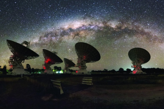Mysterious Radio Bursts Pinpointed In Distant Galaxy
