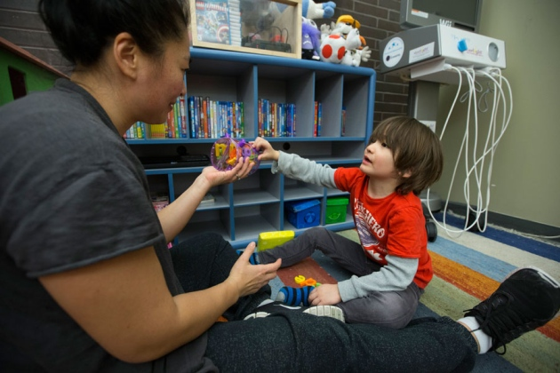 Experimental therapy reduces symptoms of autism in children