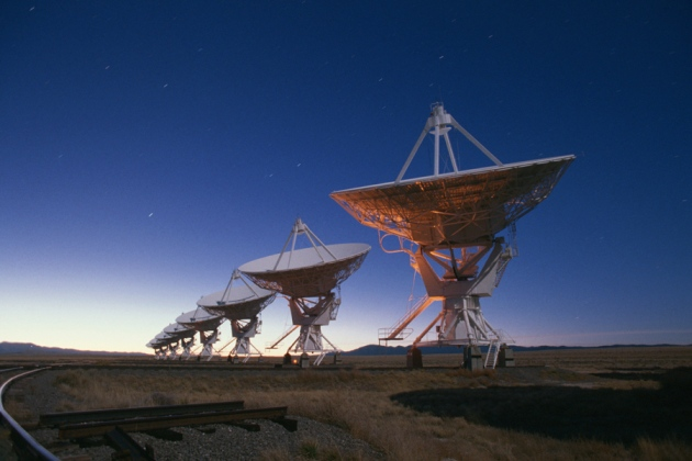 Scientists trace mysterious radio waves to a small, faraway galaxy