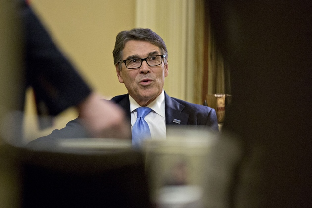 Rick Perry Made An Inadvertent Sex Joke During His Confirmation Hearing