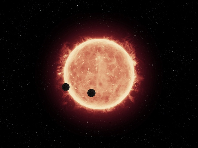 These seven alien worlds could help explain how planets form ...