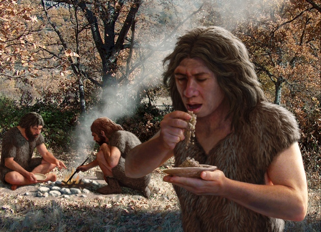 A diet fad started by Neanderthal Sid