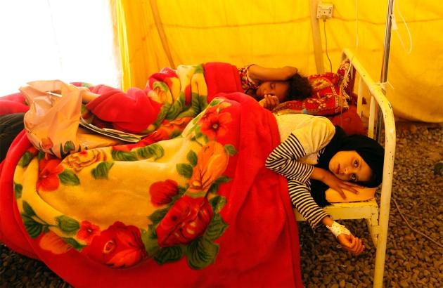 Yemen is now facing the world's worst cholera outbreak
