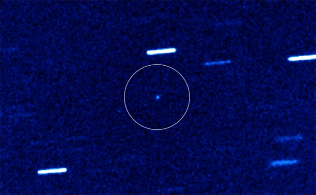 Visitor from Far, Far Away Spotted in Our Solar System