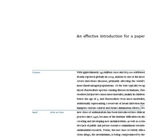 determining authorship on scientific papers