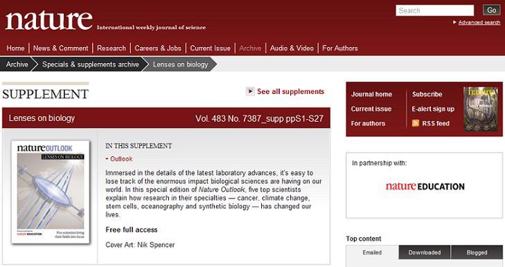 scitable blog insideed science education
